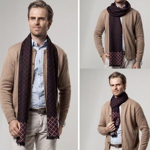 High Quality Cashmere Men's Scarf 100000655